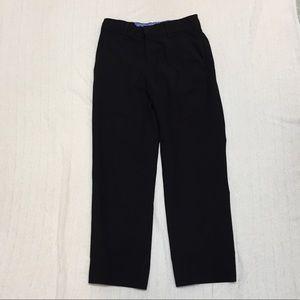 IZOD boys black dress pants. Size 8 Reg